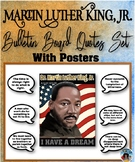 Martin Luther King Bulletin Board Quotes Set