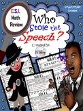 MLK Kidnapped Speech {C.S.I. Math Review} (NO PREP)