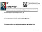 Martin Luther King, Jr. CLOSE Reading and QR Codes