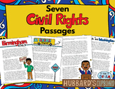 Black History Month / Civil Rights Movement Passages / Martin Luther King Jr.