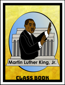 Martin Luther King Jr. Class Book in Google Slides™