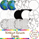 Earth Day Clip Art Martin Luther King MLK Day Earth Worksh