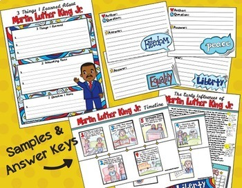 Black History Month - Martin Luther King Jr.  - Close Reading - Opinion Writing