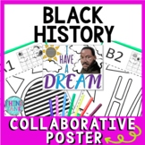 Martin Luther King Collaborative Poster!  Black History - Team Work