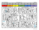 Martin Luther King Coloring Page - by Quantity! Subitizing 1-6