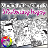 MLK Martin Luther King Coloring Pages, Zen Doodles