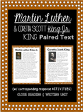 Martin Luther King & Coretta Scott (Close Reading & Writing Unit)