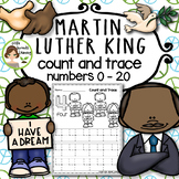 Martin Luther King Jr. Count and Trace (Numbers 0 - 20)