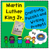 Martin Luther King Craftivity, Writing Prompts, and Puzzles