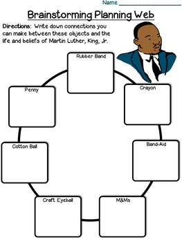 Martin Luther King Creative Writing and Critical Thinking: Survival Kit Project