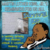 Martin Luther King Creative Writing and Critical Thinking: