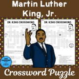Martin Luther King Crossword Puzzle