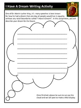 Martin Luther King Cyptogram, Homophone, and Writing Activities