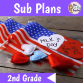 Martin Luther King Jr Activities for 2nd Grade Sub Plans
