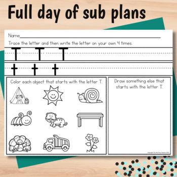 Kindergarten Sub Plans Martin Luther King Jr