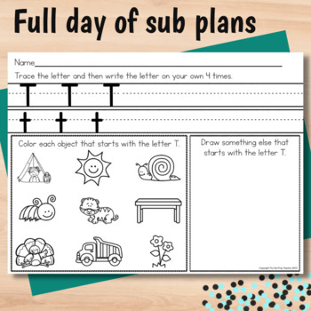 Martin Luther King Jr Activities for Kindergarten Sub Plans