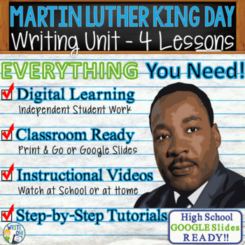 Martin Luther King Writing BUNDLE! - Argument Persuasive Expository Narrative