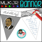 Martin Luther King Day Quotes and Facts Banners