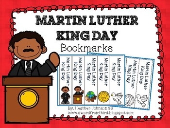 Martin Luther King Day Bookmarks