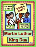 """Martin Luther King Day"" - 'Talking Points', Craft, and Song!"