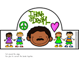 """Martin Luther King Day Crown Craft """"I Have a Dream"""""""