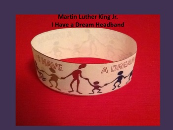 Martin Luther King Day Headband