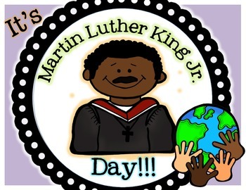 Martin Luther King Day Mlk Foldable Pack By Classroom Creations