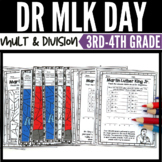 Martin Luther King Day Math 3rd and 4th Grades