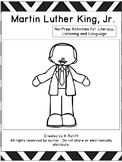 Martin Luther King Day:  No Prep Literacy, Language and Listening Activities