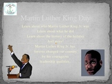Martin Luther King Day (Powerpoint)
