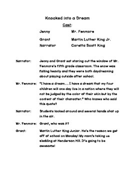 Martin Luther King Day - Reader's Theater Script and Questions