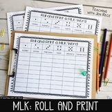 Martin Luther King Literacy Center - Roll It And Write It