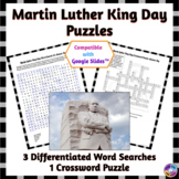 Martin Luther King Day Word Search & Crossword Puzzles