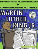Martin Luther King Differentiated Reading Passages & Comprehension Activities