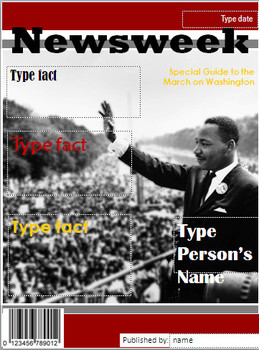 Digital Magazine Covers: Martin Luther King