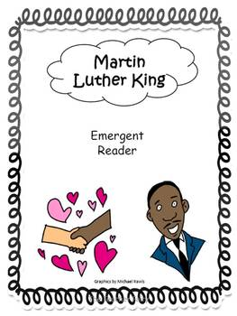 Martin Luther King- Emergent Reader