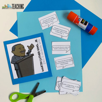 Martin Luther King Fact & Opinion Sort