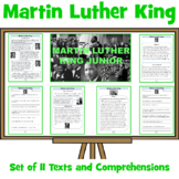 Martin Luther King - Fact Sheets and Comprehension Questions