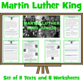 Martin Luther King - Fact Sheets and Reflective Written Tasks