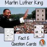 Martin Luther King Fact and Question Cards