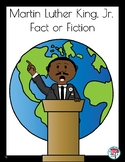 Martin Luther King Fact or Fiction Cards