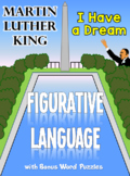 Martin Luther King: Figurative Language & Word Puzzles