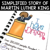 Martin Luther King Jr Simplified Story MLK