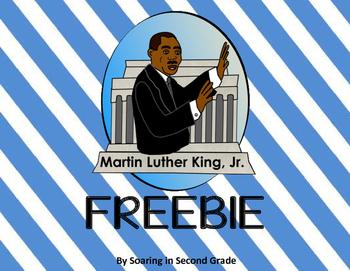 Martin Luther King Freebie!