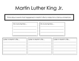 Martin Luther King Graphic Organizer