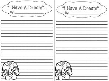 Martin Luther King I Have A Dream Bulletin Board Set