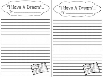 Martin Luther King - I Have A Dream Bulletin Board Set