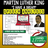 Martin Luther King I Have A Dream Speech Analysis, Writing