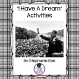 "Martin Luther King -""I Have a Dream""- Activities"