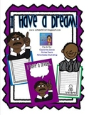 Martin Luther King I Have a Dream Craftivity Writing